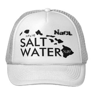 Surf d'eau salée de NaCl Casquette De Camionneur