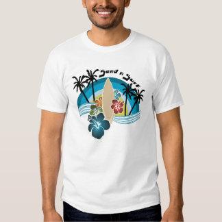 Surf du sable n t-shirts