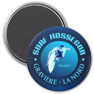 Surf Hossegor Magnet Rond 7,50 Cm