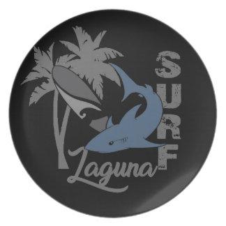 Surf - Laguna Assiettes En Mélamine