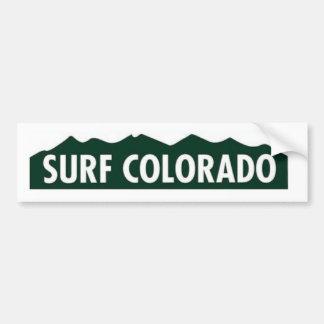"SURF LE COLORADO LE COLORADO DRÔLE ""du Colorado de Autocollant De Voiture"