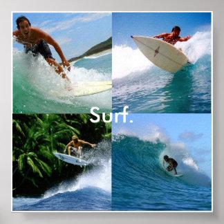 surf pendant la vie posters