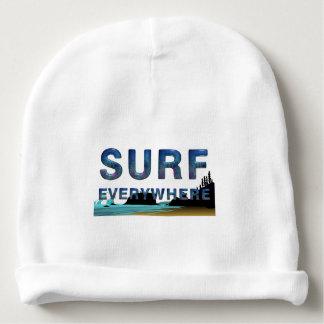 Surf SUPÉRIEUR partout Bonnet De Bébé