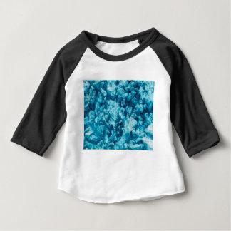 surface de pierre bleue t-shirt pour bébé