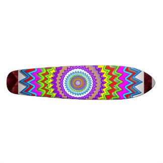 Surface d'impression de regard de VAGUE de CHAKRA Skateboards