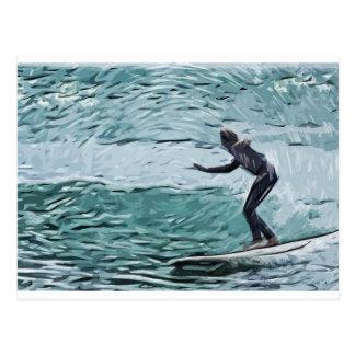 surfer cartes postales