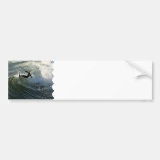 Surfer dans des adhésifs pour pare-chocs d'un Wets Autocollant Pour Voiture