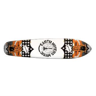 Surfer de rue de moteurs de la terre skateboard customisable