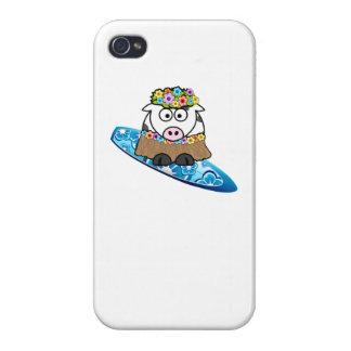 Surfer de vache à danse polynésienne coque iPhone 4/4S