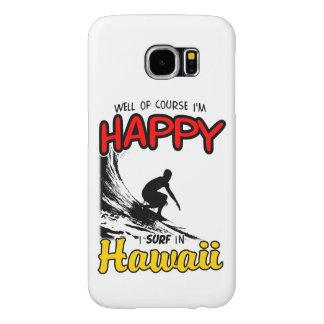 Surfer heureux HAWAÏ (noir)