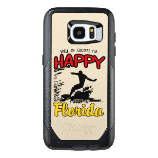 Surfer heureux la FLORIDE (noir)