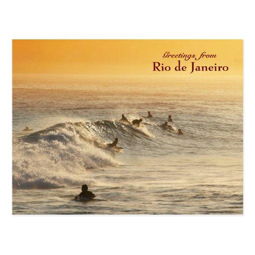 """""""Surfers, carte postale de Rio de Janeiro"""""""