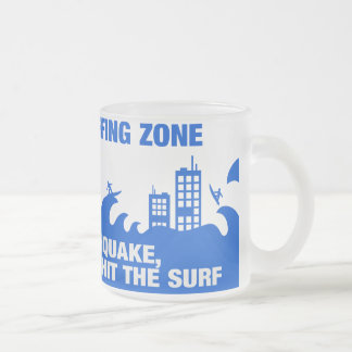 Surfers extrêmes de tsunami