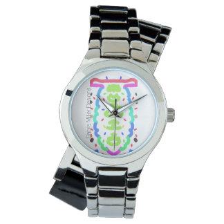 Surprise de montre de bracelet de chrome