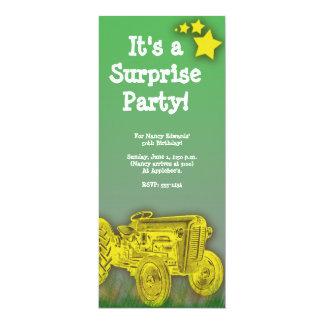 Surprise de tracteur ou invitation de fête