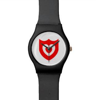 Surveillance diurne affectueuse - noir montres bracelet