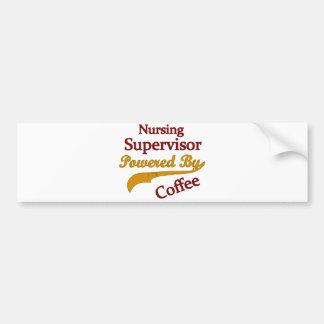 Surveillant de soins actionné par le café autocollant pour voiture