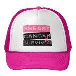 Survivant de cancer du sein casquettes