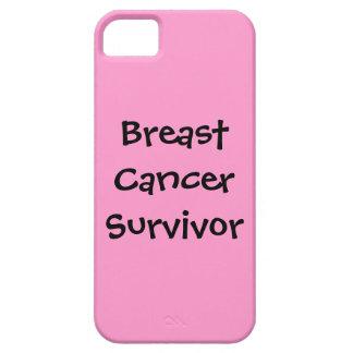 Survivant de cancer du sein étui iPhone 5