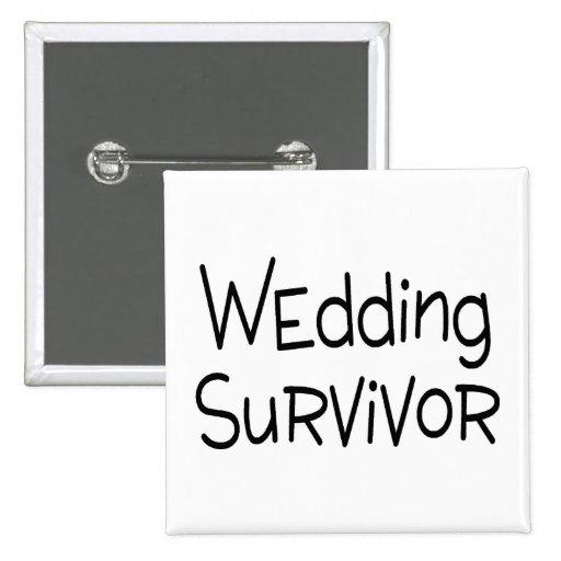 Survivant de mariage badge
