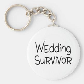 Survivant de mariage porte-clés