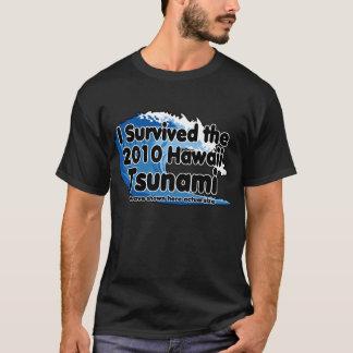 Survivant de tsunami t-shirt