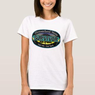 Survivante de maman de Homeschool T-shirt