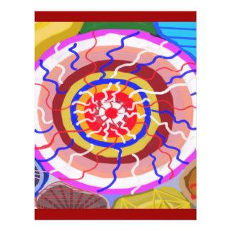 Surya Chakra - énergie de source de Sun Prospectus 21,6 Cm X 24,94 Cm