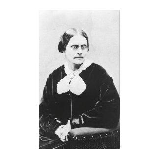 Susan Brownell Anthony c.1871 Toile Tendue Sur Châssis