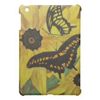 Susan et butterflys observés par noir étui iPad mini