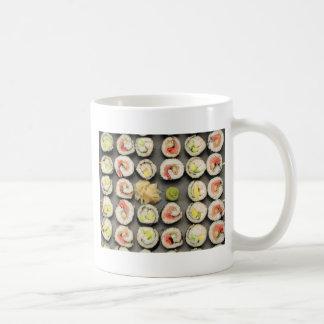 Sushi avec le wasabi et le gingembre mug