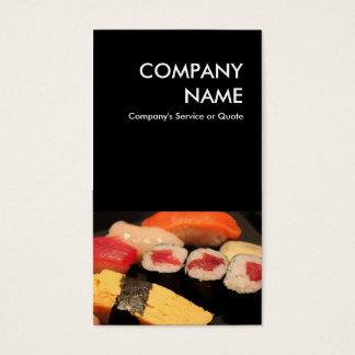 sushi cartes de visite