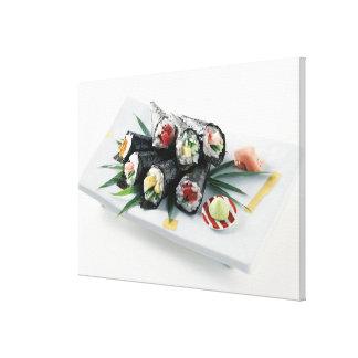 Sushi délicieux toiles