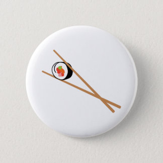 Sushi et baguettes badge