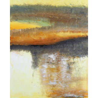 Yellow Gold Abstract