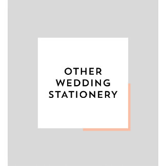 Other Wedding Stationery