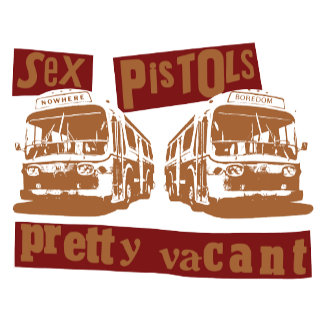 Pretty Vacant - Maroon/Brown