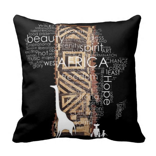 African Design Pillows