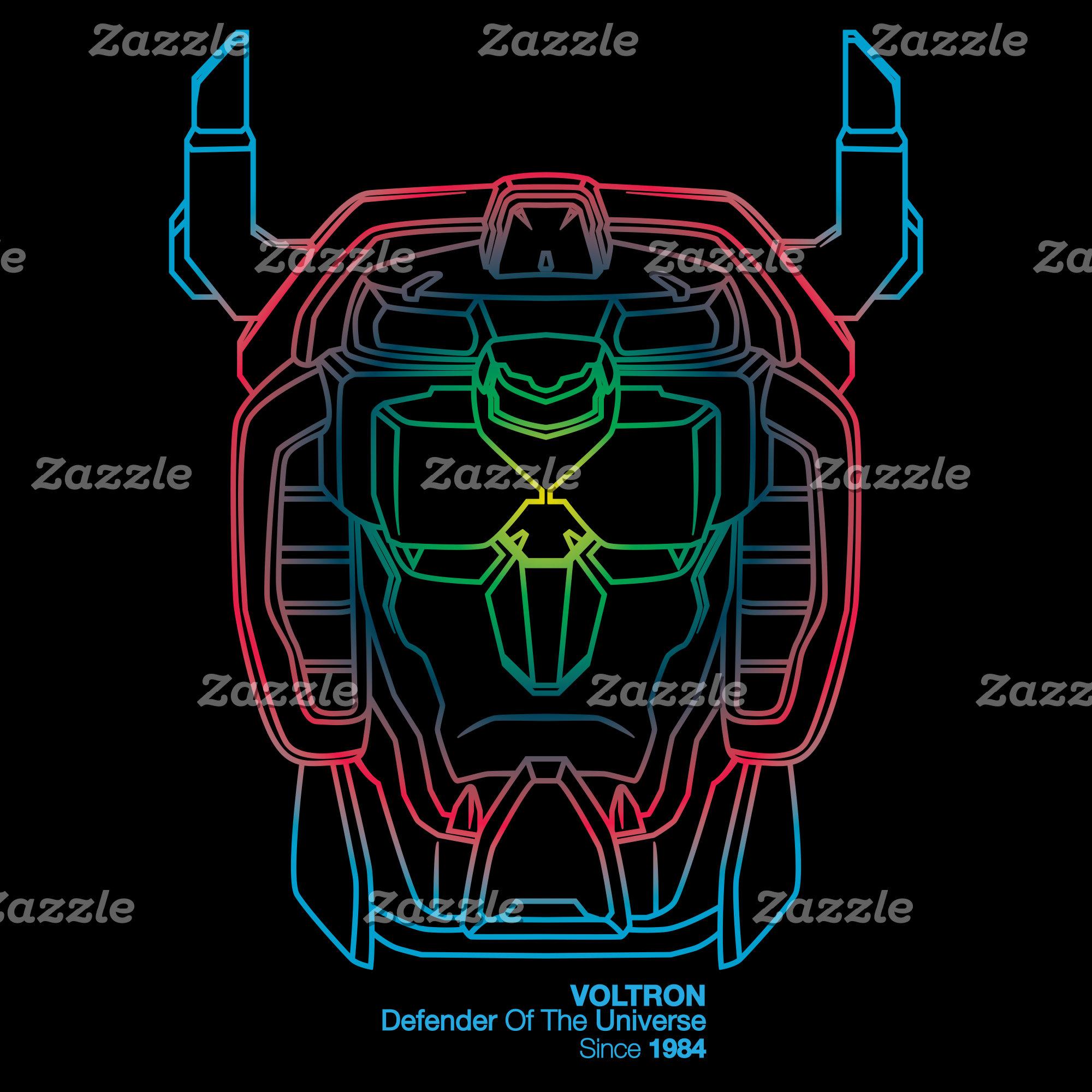 Voltron | Pilot Colors Gradient Head Outline