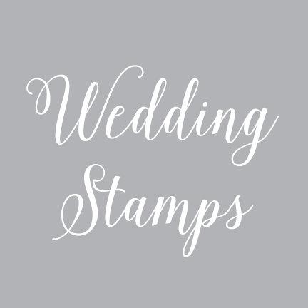 Wedding Postage Stamps