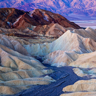 Zabriskie Point Before Dawn