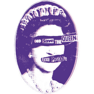 God Save The Queen - Purple