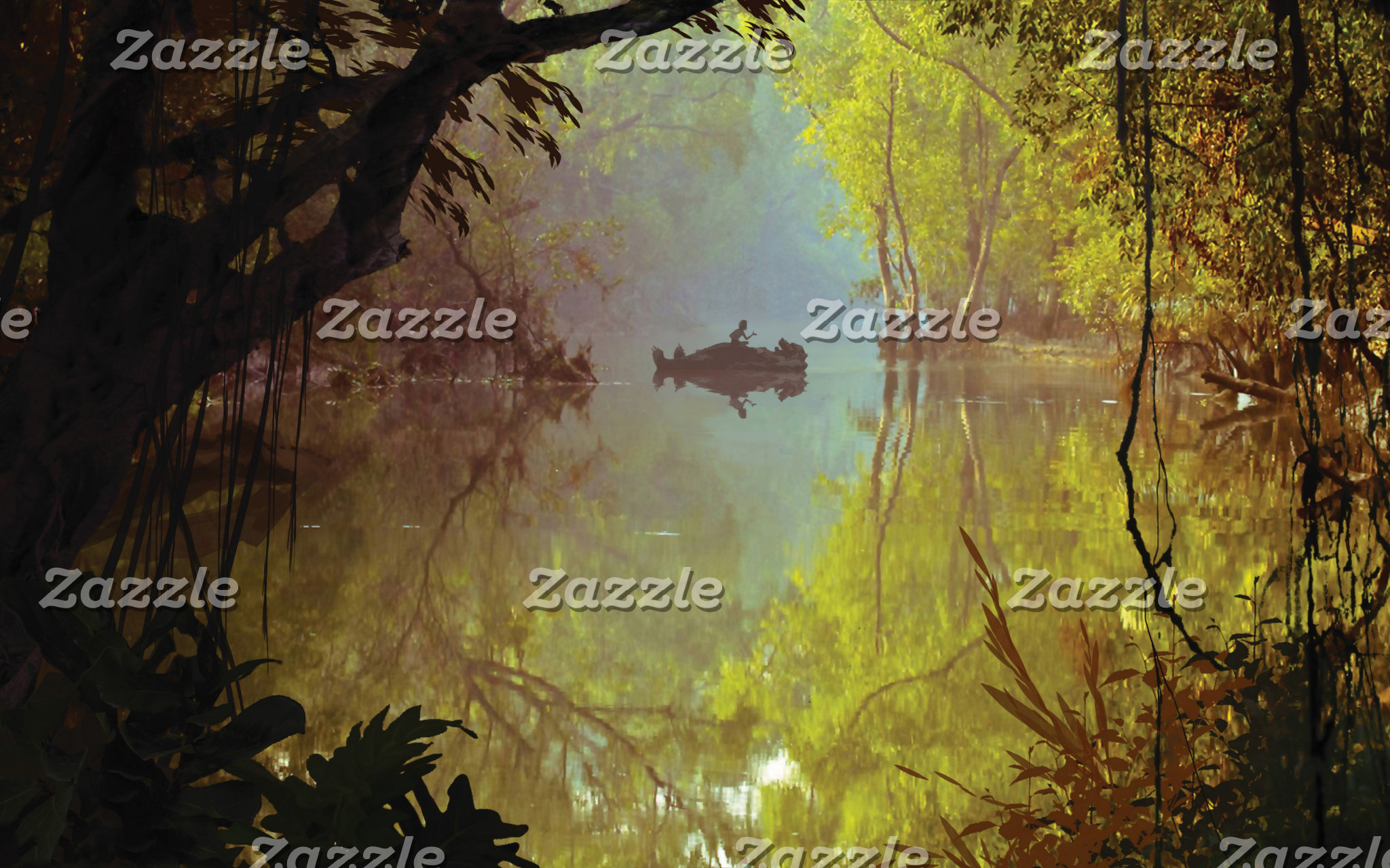 Mowgli and Baloo - Laid Back Poster
