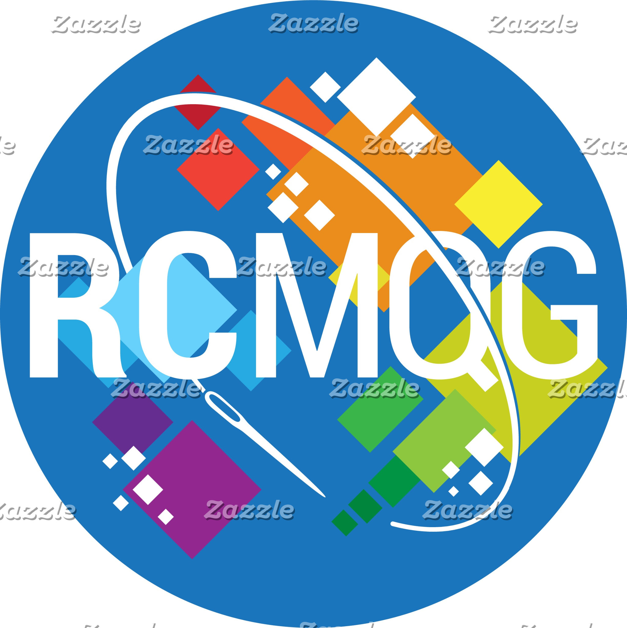 Rocket City Modern Quilt Guild Logo