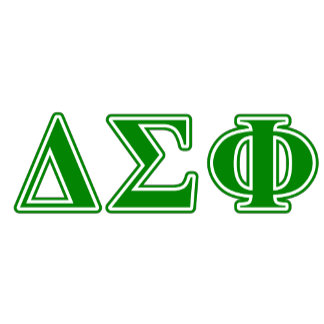 Delta Sigma Phi Green Letters