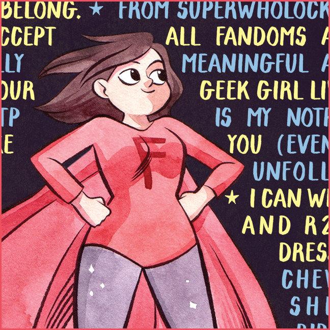 The Geek Girl's Litany for Feminism