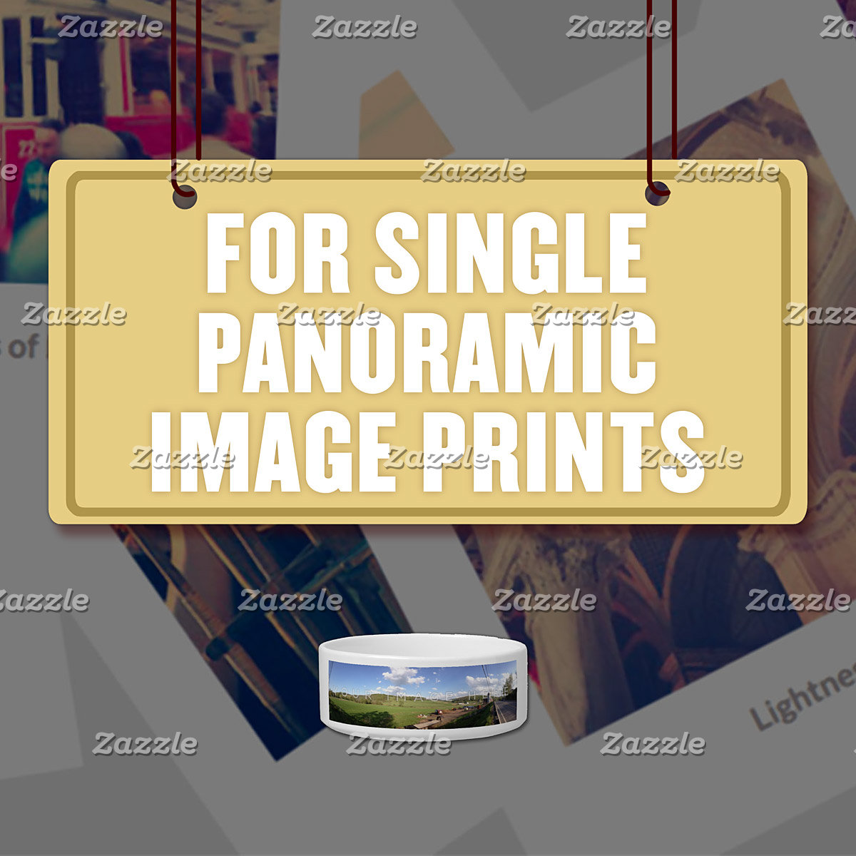 For Single (1) Panoramic Photo Prints