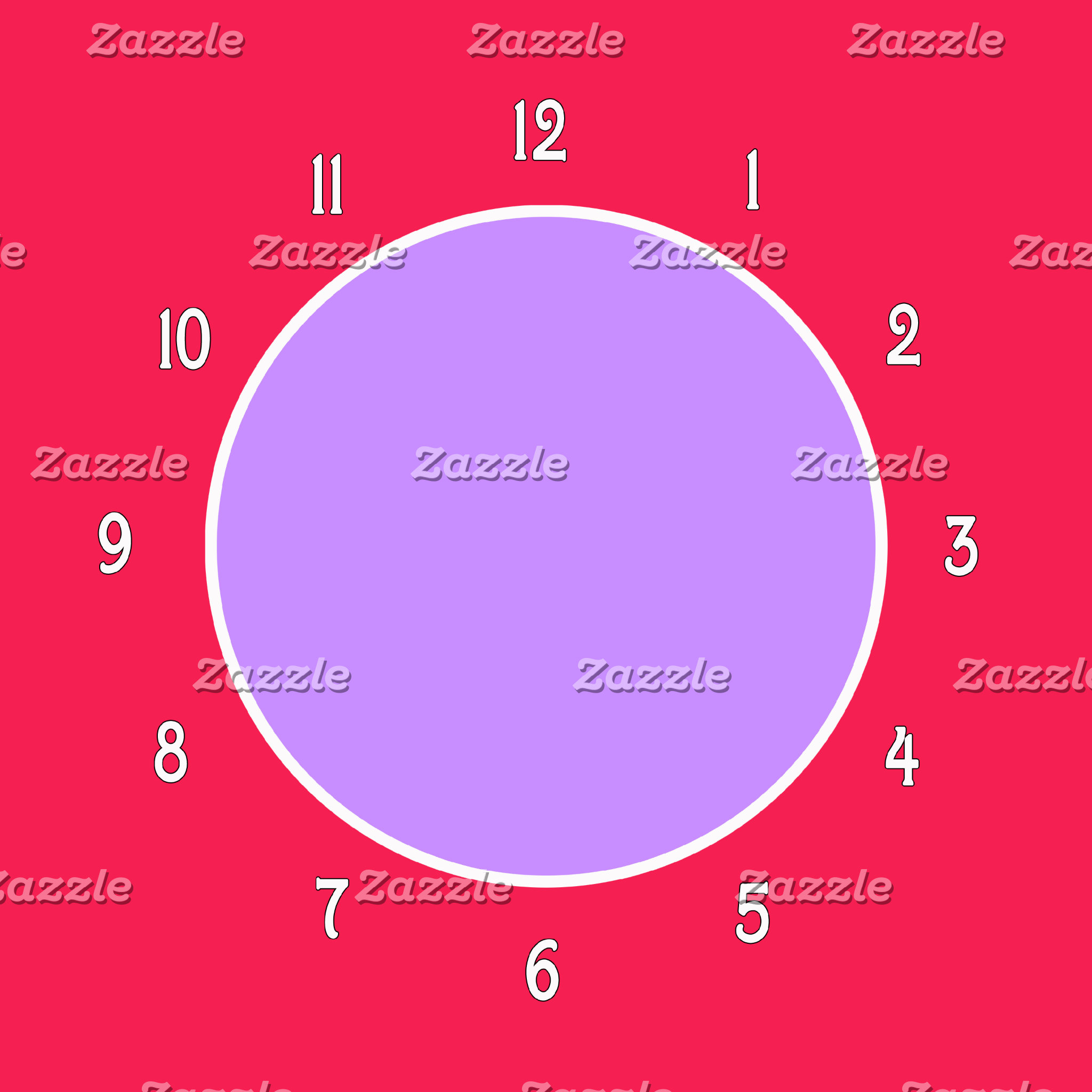 Color Block Clocks