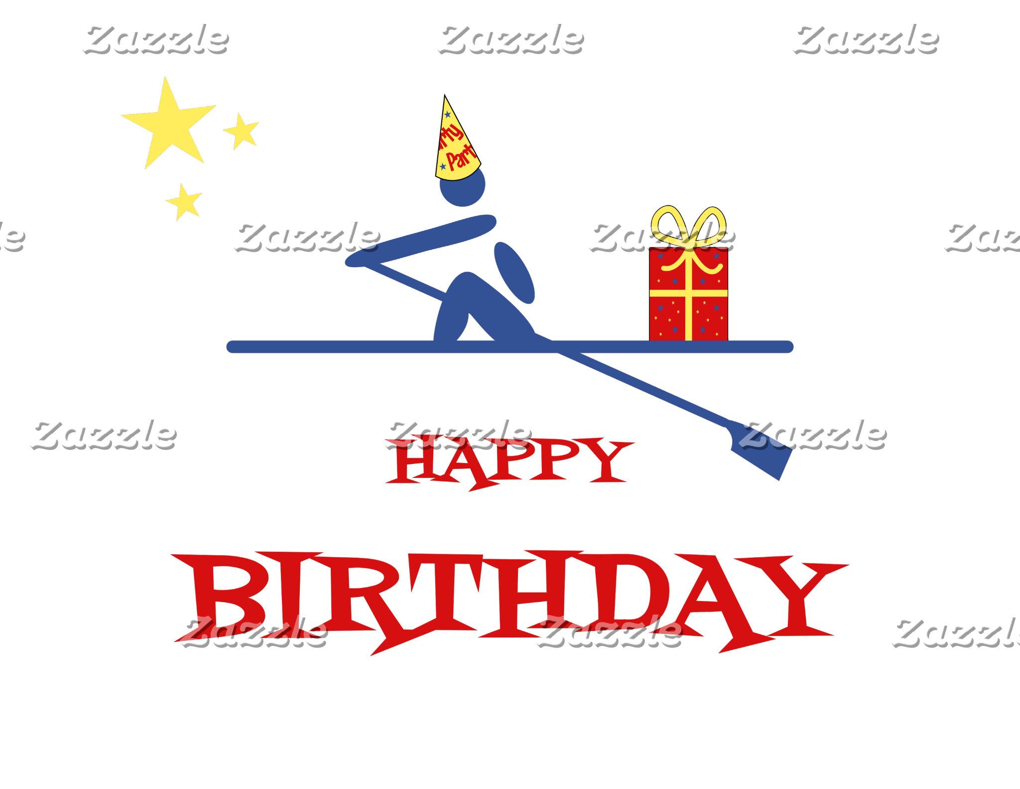 Rowing Birthday