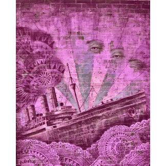Art2Go Bags in Pink Street Art